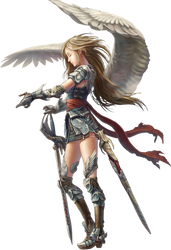 Angel In Armor by Charmance96