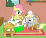 tea time with derpy