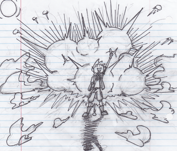 Explosion Guy by JazCooper
