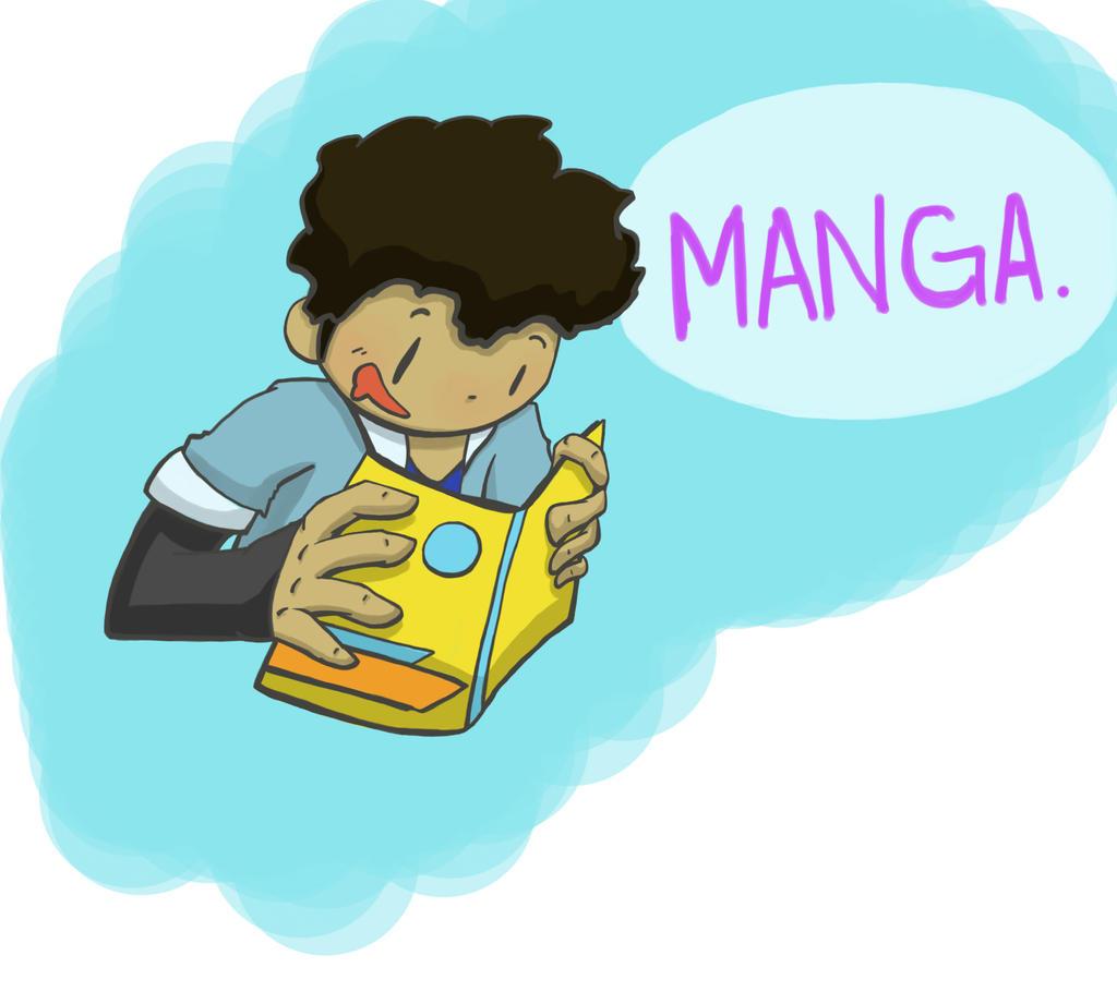 Me And Manga by JazCooper