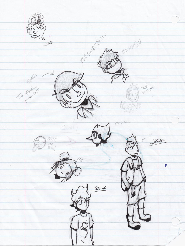 More School Drawings by JazCooper