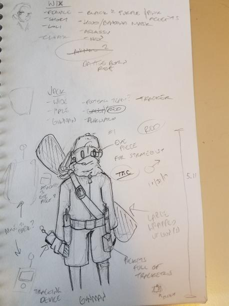 Tac - Character Design by JazCooper
