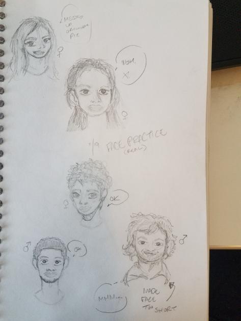 Face Practice by JazCooper