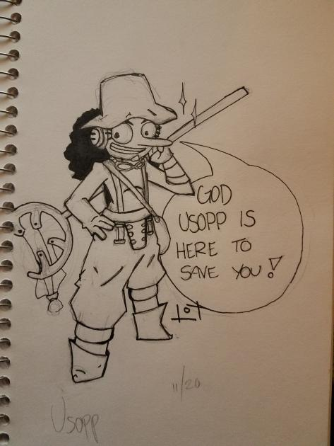 God Usopp Is Here! by JazCooper