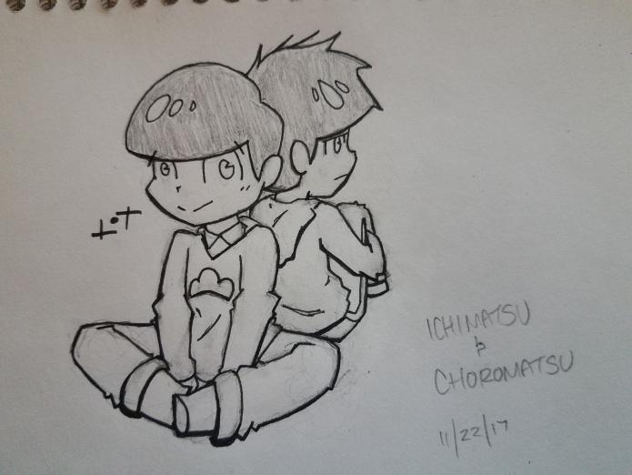 Ichimatsu And Choromatsu by JazCooper