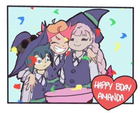 Happy Birthday Amanda O'Neill! by JazCooper