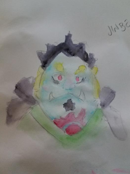 Jinbei Water Color by JazCooper