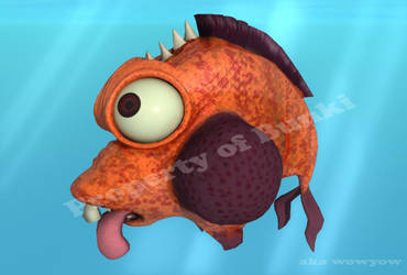 Dah Idiot Punk Fish by wowywow