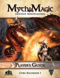 Myth and Magic Player's Guide Cover
