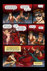 Satan Ninja 198X - Issue 1 - Page 9 by JessicaSafron
