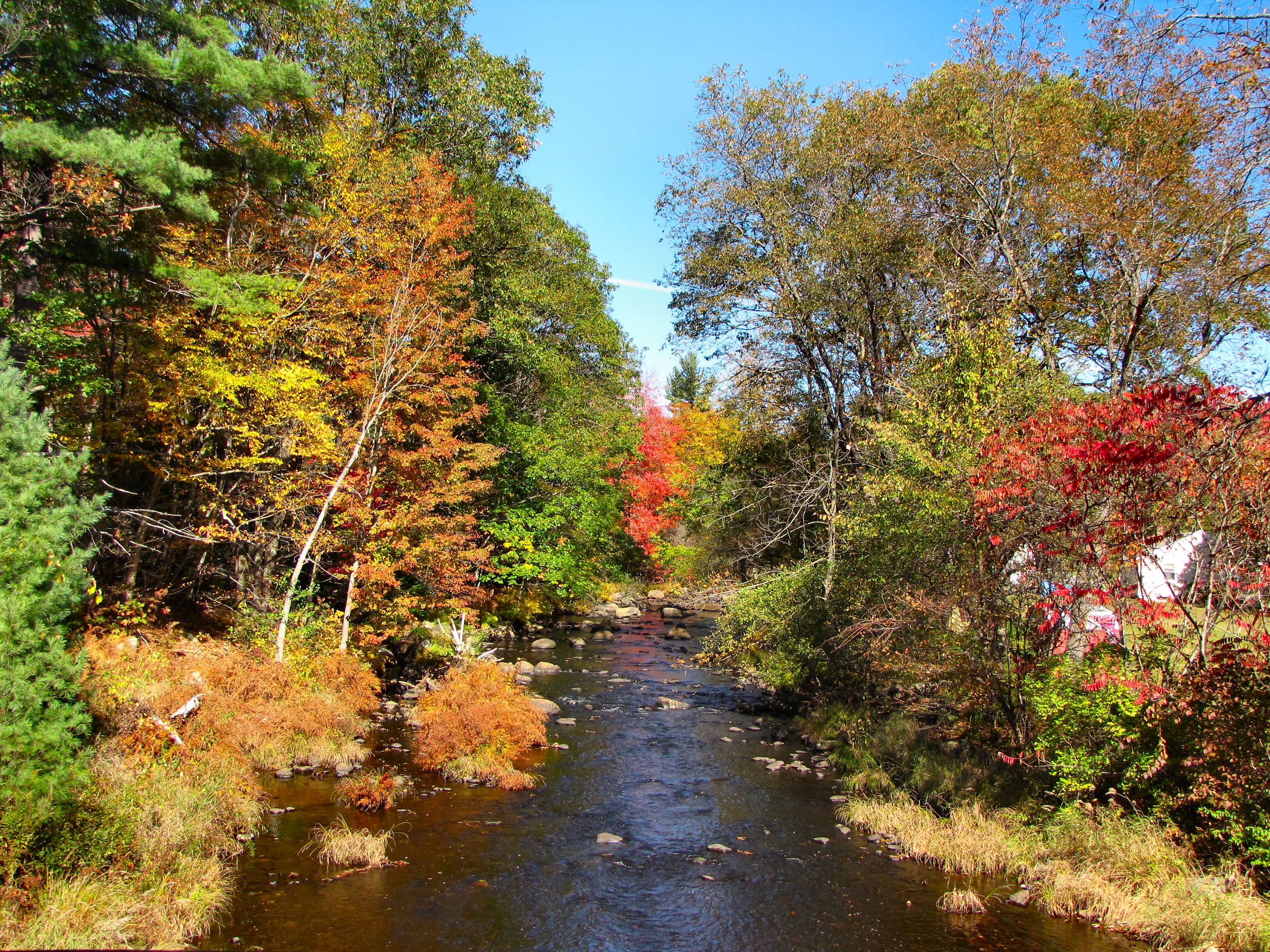 Otter Brook in the Fall by craftywench-nh