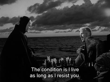 The seventh Seal_Death and knight