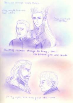 Bard and Thranduil _Thorin and Bilbo_Years