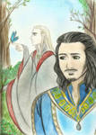 Thanduil and King Bard_Garden_Foule sentimentale by EPH-SAN1634