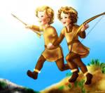 Young Haldar and Haleth