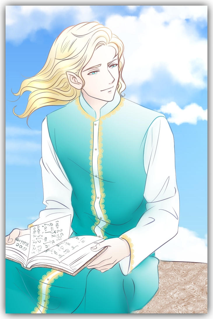 Finrod B-Day Gift by EPH-SAN1634