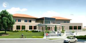 School Campus Exterior by simplychen
