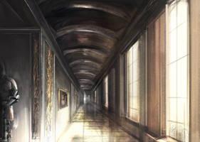 Hallway by TomTC