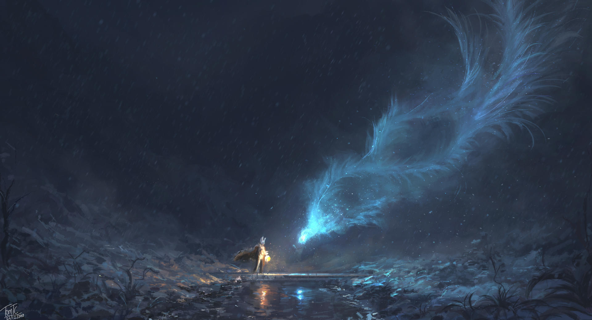 Encounter with The Winter Spirit