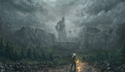 The Broken Giant by TomTC