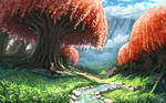 The Path to The Crimson Forest