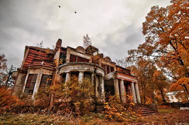 Novikov's Mansion by Zhen-Yang