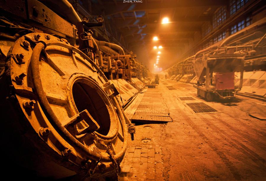 Volkhov Aluminium Plant by Zhen-Yang
