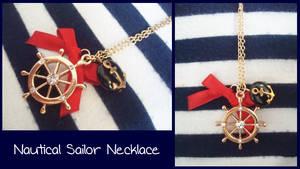 Nautical Sailor Necklace