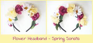 Flower Headband - Spring Sonata