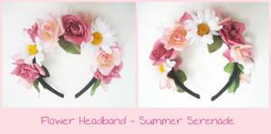 Flower Headband - Summer Serenade