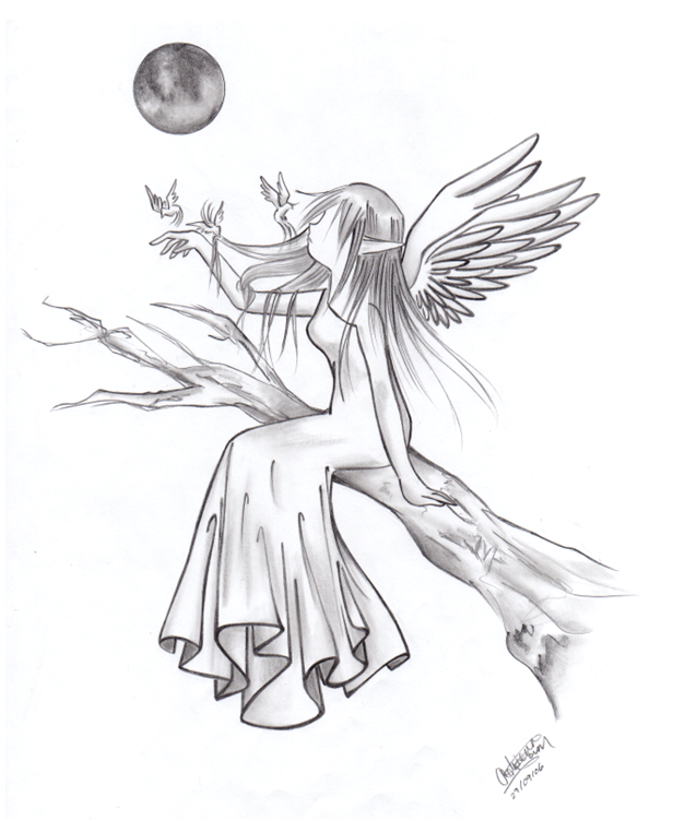 Angel by Feyon