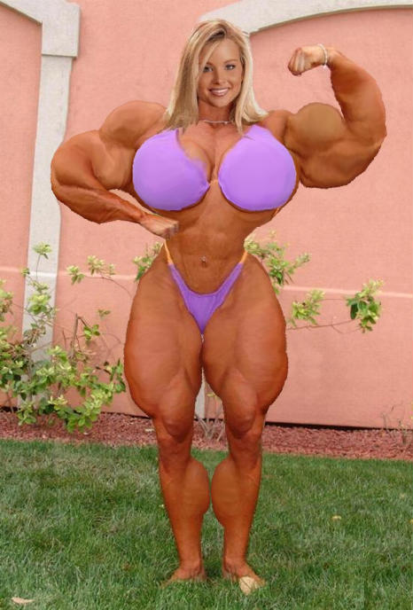 Muscled Mature Babe 88