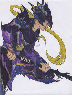'The Dragoon Master' by OneWithTheStars