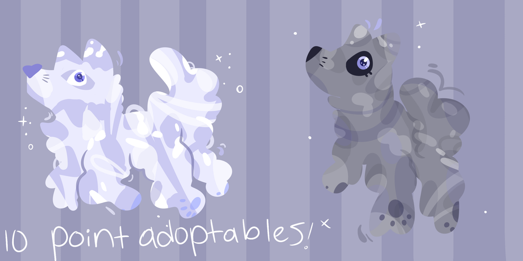 Cloudpuppies (EDIT, THE FIRST ONE IS SOLD) by PorlsPeaches