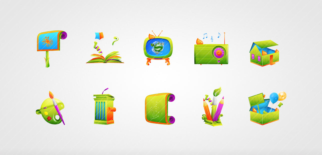 OMI icons by Radiatr