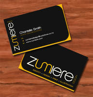Zumi Business Cards by zumiere