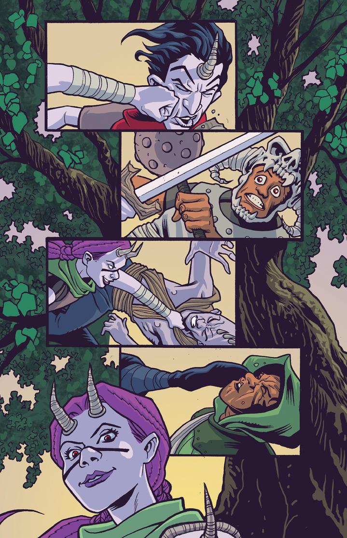 Moon Hunters Page 2 Art by matthewchilders
