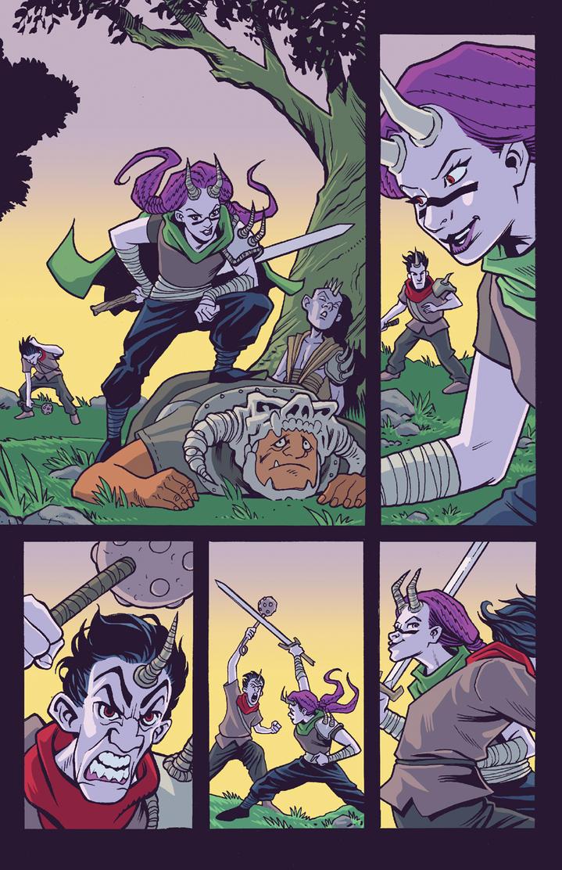 Moon Hunters Page 3 Art by matthewchilders