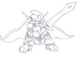 Goblin hero by Tattoos80