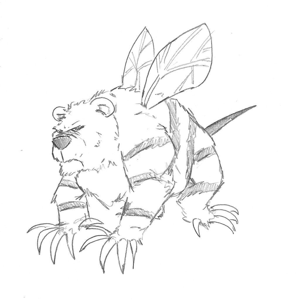 Beebear by Jeff Baker by Tattoos80