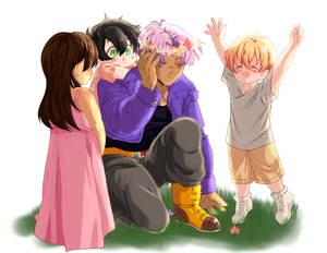 Trunks is best foster dad