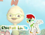 MLP Chicken Little by MissSensitiveness48