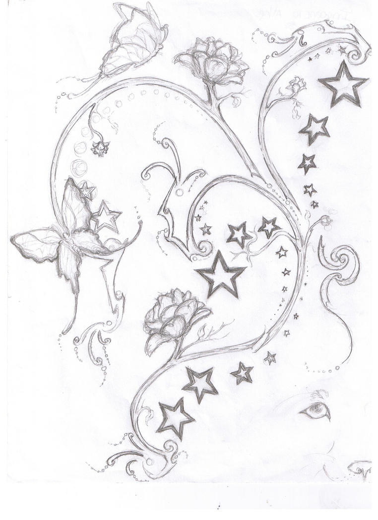 stars tattoo designs