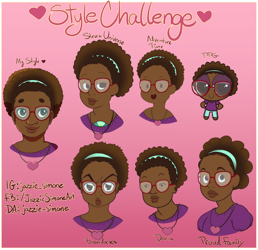 Style Challenge! by Jazzie-Simone