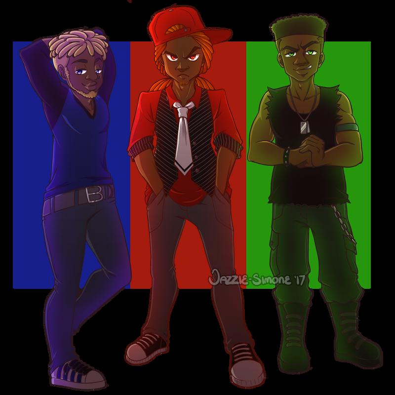 RowdyRuff Boys by Jazzie-Simone