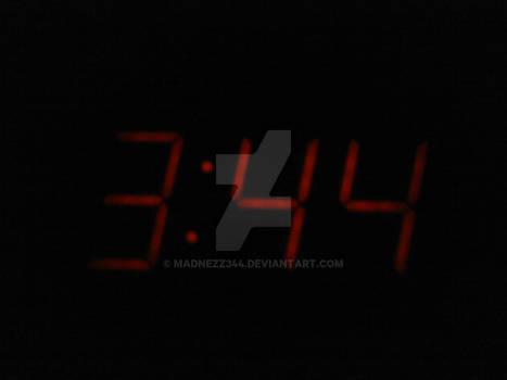3:44 my eternal number