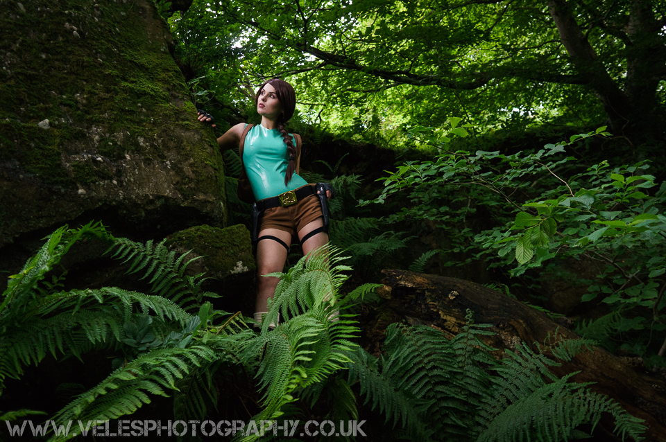 Nico as Lara Croft III by VelesPhotos