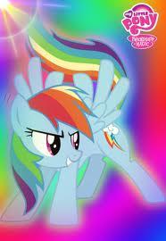 MLP Rainbow Dash Card Sleeve by angelbins2