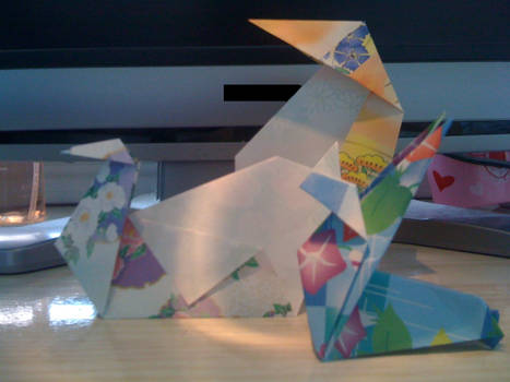 Origami under the light