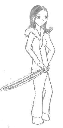 Pre-Sketch: WrongWeapon!Lucia